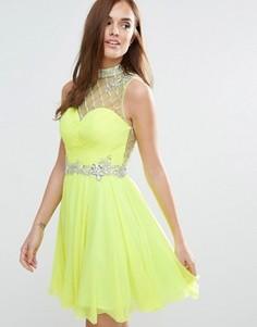 Приталенное платье мини Forever Unique - Зеленый