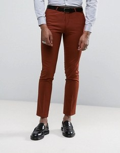 Супероблегающие брюки Noose & Monkey - Оранжевый