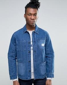 Рабочая джинсовая куртка Pepe Jeans - Синий
