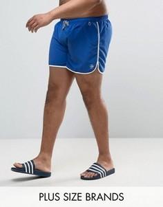 Ярко-синие шорты для плавания Duke PLUS - Синий