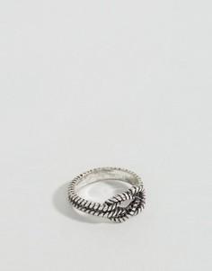 Серебряное кольцо Icon Brand - Серебряный