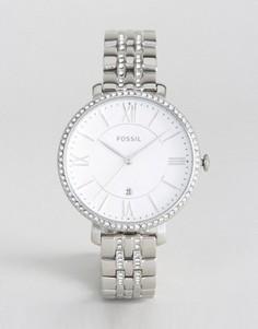 Часы с камнями Fossil Jacqueline - Серебряный