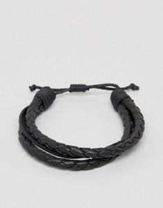 Черный браслет Jack & Jones Jacpeter - Черный