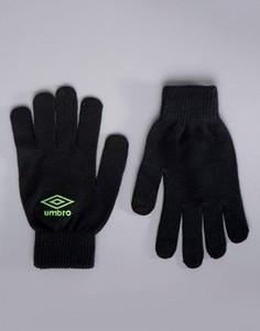 Спортивные перчатки Umbro - Черный