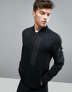 Черная спортивная куртка Reebok Training BK4509 - Черный