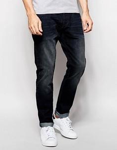 Суженные темные джинсы Esprit - Синий