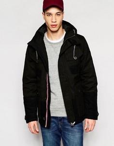 Куртка с капюшоном Puffa Aiden - Черный