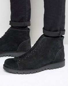 Замшевые ботинки Walk London Bethnal - Серый