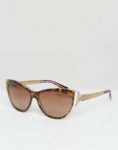 Солнцезащитные очки кошачьи глаза Michael Kors - Коричневый