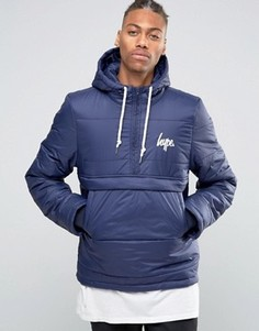 Дутая куртка через голову Hype - Синий