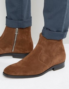 Замшевые ботинки на молнии Paul Smith Mulder - Рыжий