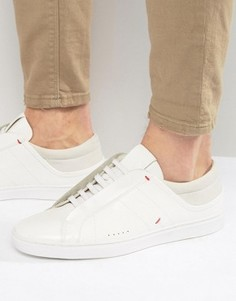 Блестящие кроссовки BOSS By Hugo Boss Post - Белый