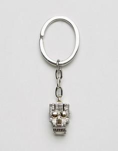 Брелок для ключей с роботом Paul Smith - Серебряный