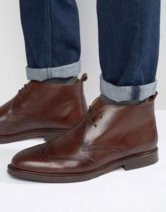 Ботинки чукка Selected Homme Malcom - Коричневый