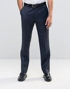 Зауженные брюки в строгом стиле Ben Sherman - Синий