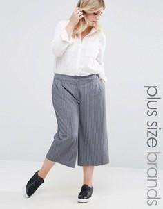 Юбка-брюки в полоску Junarose - Серый