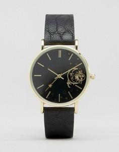 Часы с 3D-принтом ASOS - Черный