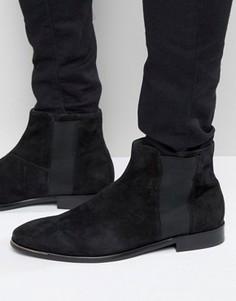 Замшевые ботинки челси ALDO Coppe - Черный