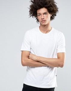 Белая меланжевая футболка Minimum Delta - Белый