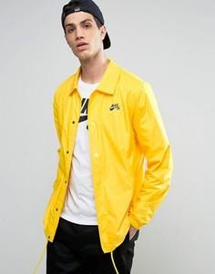 Желтая спортивная куртка Nike SB 829509-719 - Желтый
