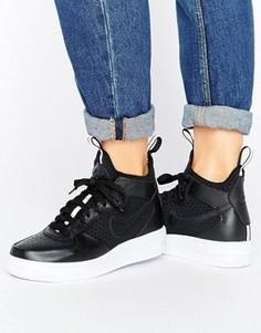 Черные кроссовки средней высоты Nike Air Force 1 Ultraforce - Черный