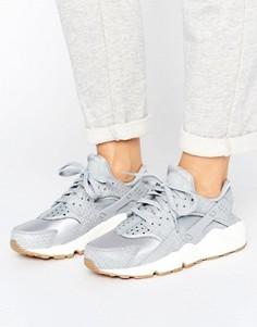 Серые кроссовки-премиум Nike Air Huarache Run - Серый