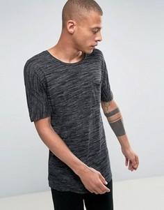 Фактурная футболка Bellfield - Черный