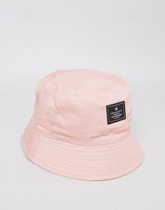 Двусторонняя панама пыльно-розового цвета ASOS - Розовый