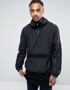 Куртка через голову с тканой отделкой Religion - Черный
