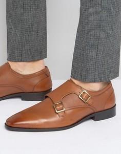 Кожаные туфли-монки KG Kurt Geiger Brook - Рыжий