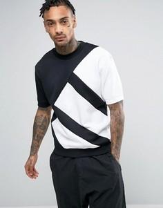 Свободный свитшот adidas Originals Berlin Pack EQT BP5979 - Черный