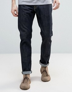 Темные суженные джинсы Edwin ED-55 - Синий