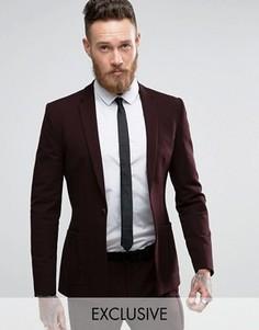 Супероблегающий пиджак с накладными карманами Religion - Фиолетовый