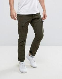 Узкие брюки карго Produkt - Зеленый