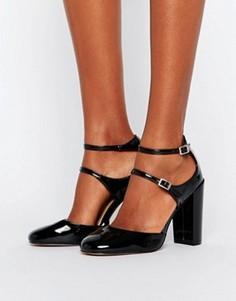 Туфли на высоком каблуке ASOS PIECE OF CAKE - Черный