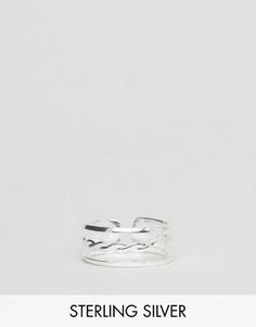 Серебряное кольцо с узором Regal Rose - Серебряный