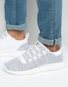 Белые трикотажные кроссовки adidas Originals BB8941 - Белый
