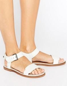 Белые кожаные сандалии G-Star Claro - Белый