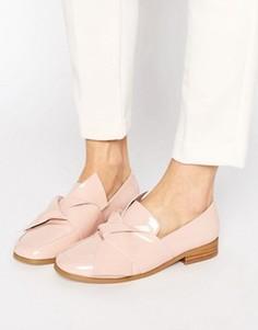 Туфли на плоской подошве с декоративными узелками ASOS MAXIMUM - Бежевый
