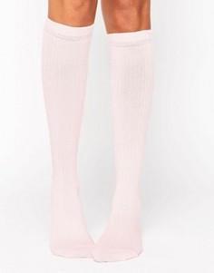 Носки в рубчик ASOS - Розовый