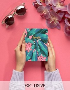 Ежедневник с пальмовыми листьями Ohh Deer - Мульти