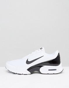 Бело-черные кроссовки Nike Air Max Jewell - Белый
