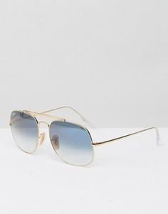 Солнцезащитные очки-авиаторы Ray-Ban General 0RB3561 - Золотой