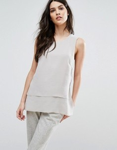 Топ Selected Femme Cory - Серый