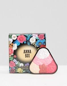 Иллюминайзер ограниченной серии Anna Sui Face Colour - розовые румяна и хайлайтер - Розовый