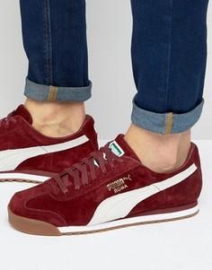 Красные кроссовки Puma Roma 36354405 - Красный