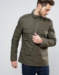 Куртка оливкового цвета Jack Wills Kirkconnel - Зеленый