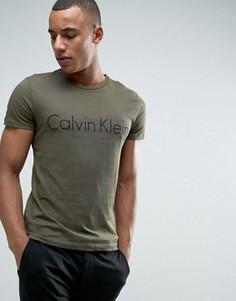 Футболка с логотипом Calvin Klein - Зеленый