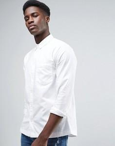 Белая оксфордская рубашка Waven - Белый