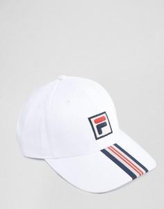 Белая бейсболка Fila Vintage - Белый